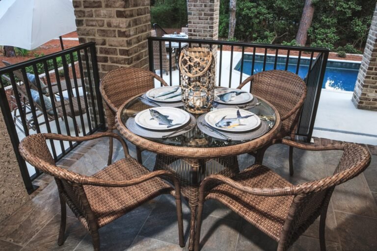 Why Wicker is Better than Steel Patio Furniture