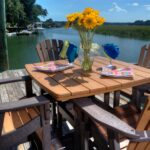Beautiful recycled plastic patio furniture