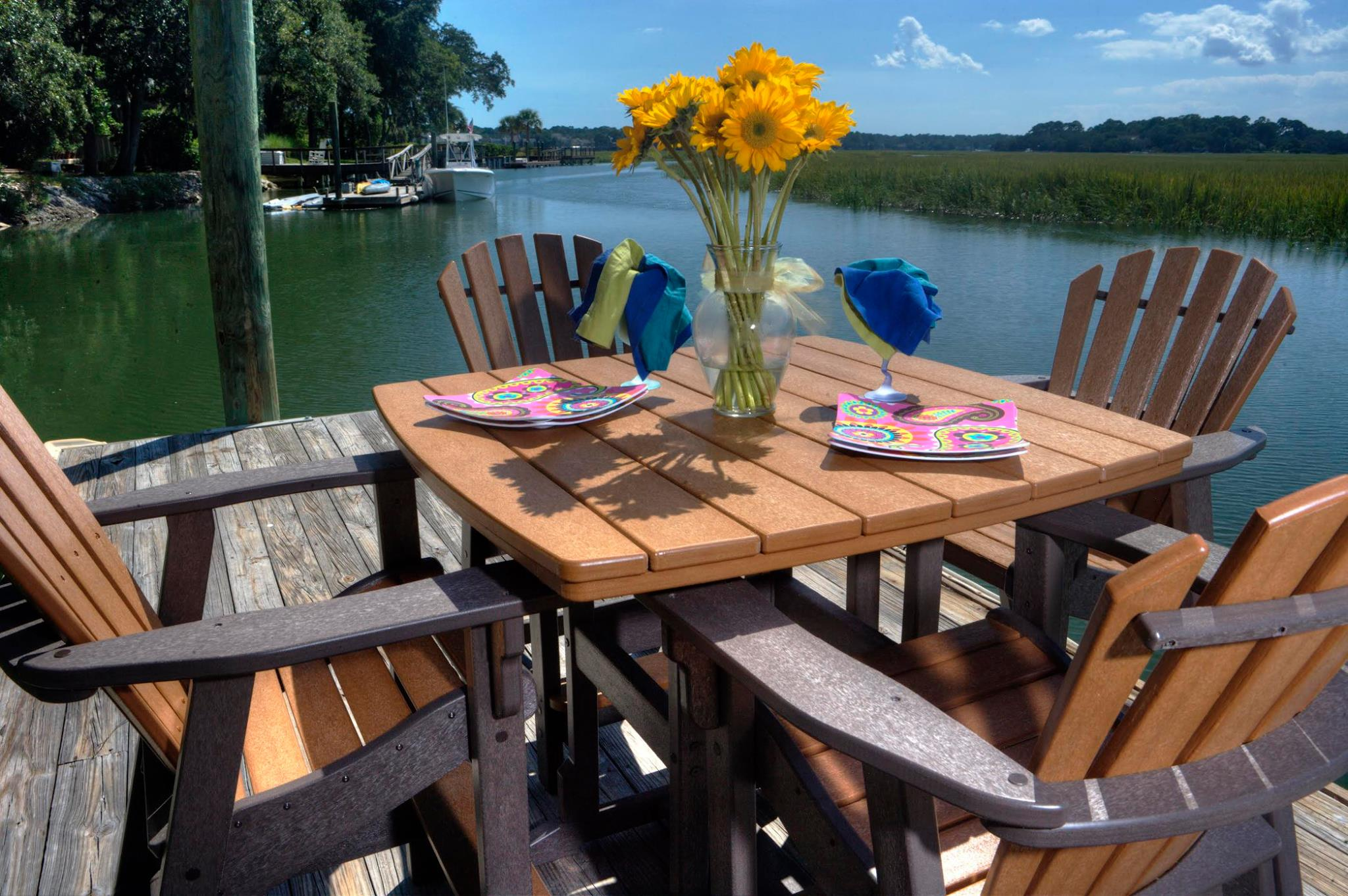 Why you should choose recycled plastic outdoor furniture for Plastic patio furniture