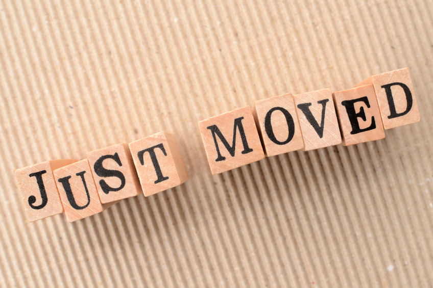 Information for having moved