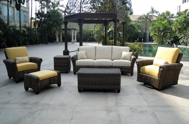Lovely Wicker Patio Furniture