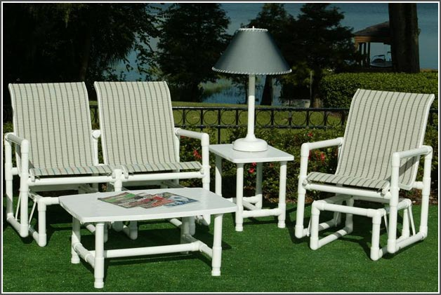 pipe patio furniture