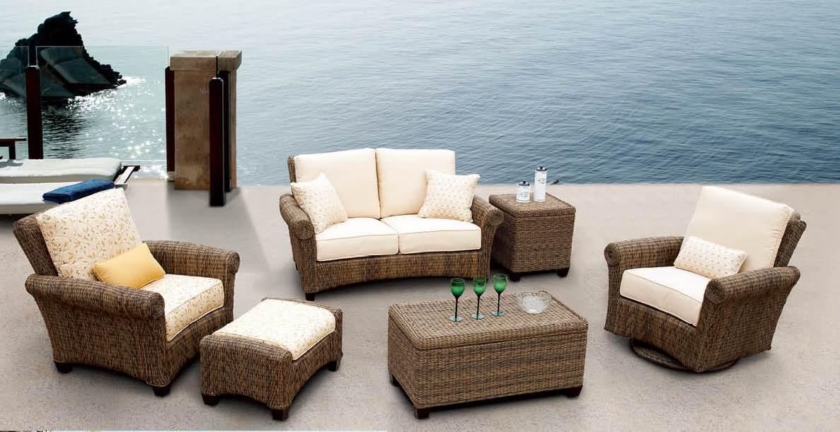 Wicker Patio Furniture Palm Casual, Casual Patio Furniture