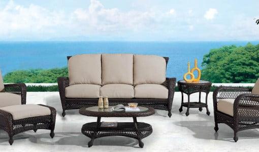 Wicker Cast Aluminium Fabrics Amp Pvc Pipe Furniture