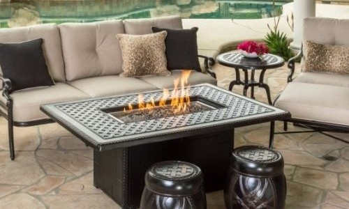 High Quality Outdoor Fire Tables For Sale Palm Casual